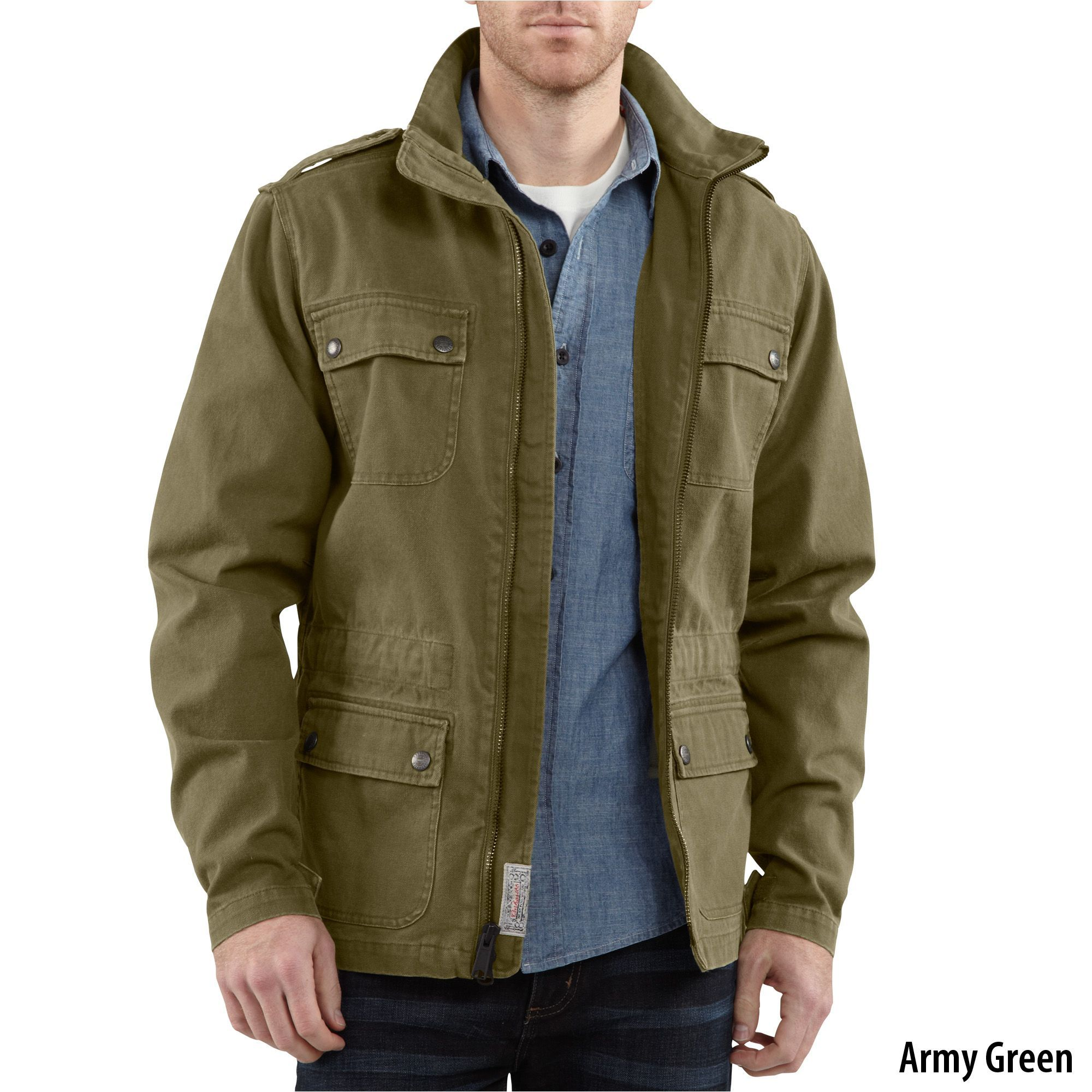 a27a7e12678 Review Carhartt Series 1889 Military Jacket (Style  J290)