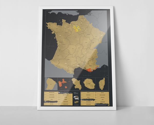Scratch map france is the latest edition to the scratch map scratch map france is the latest edition to the scratch map family a gumiabroncs Choice Image
