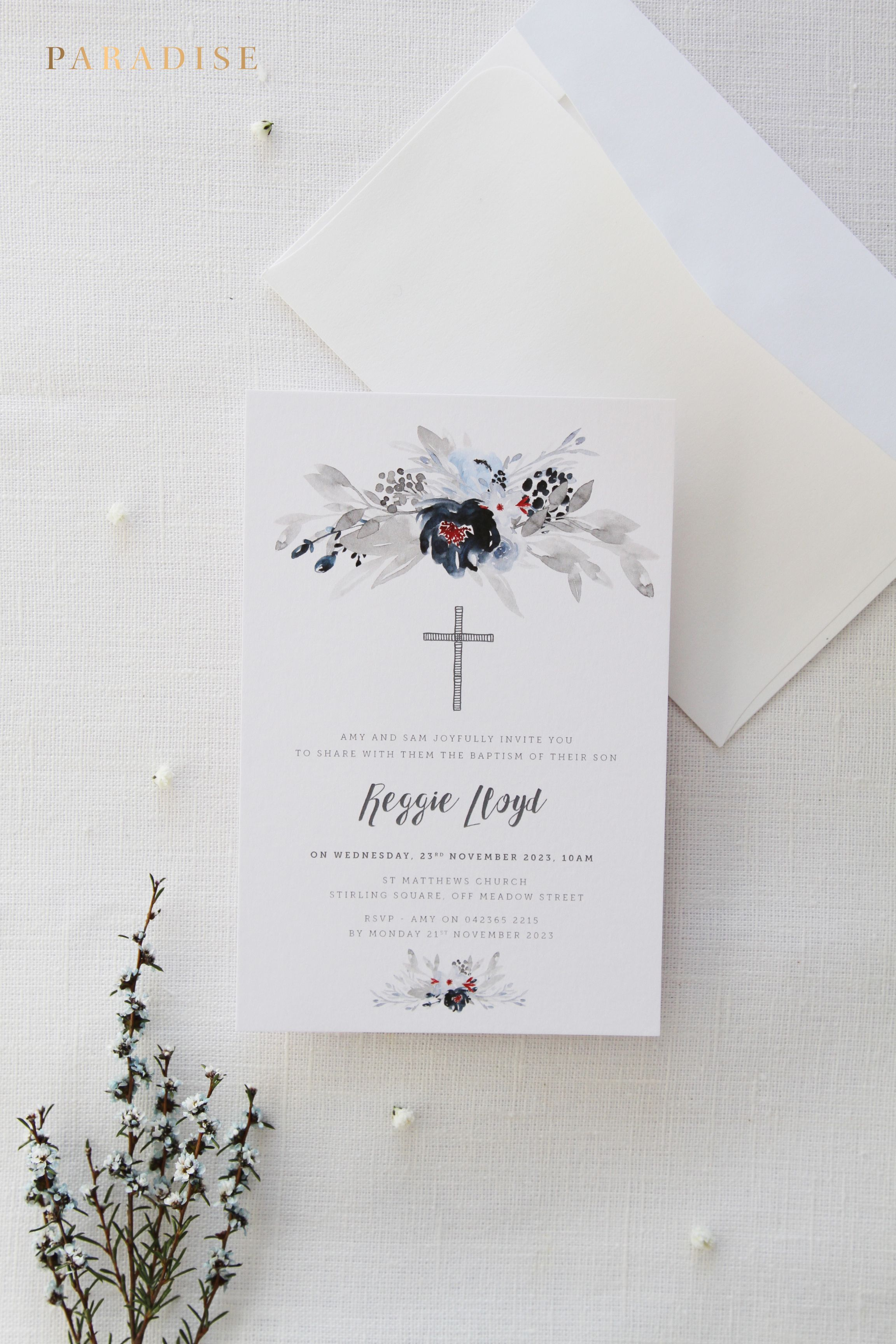 picture about Printable Baptism Cards referred to as Boy or Woman Baptism Invites, Christening Invitation