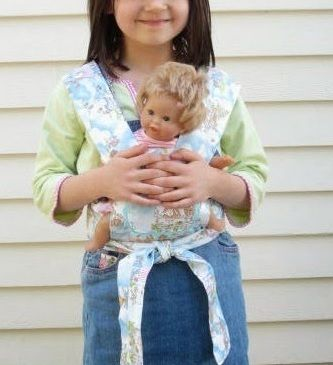 DIY Baby Doll Carrier | Baby doll carrier, Doll carrier and Diy baby