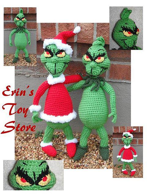 Mr. Grouch pattern by Erin Scull | Omas, Puppe und Weihnachten