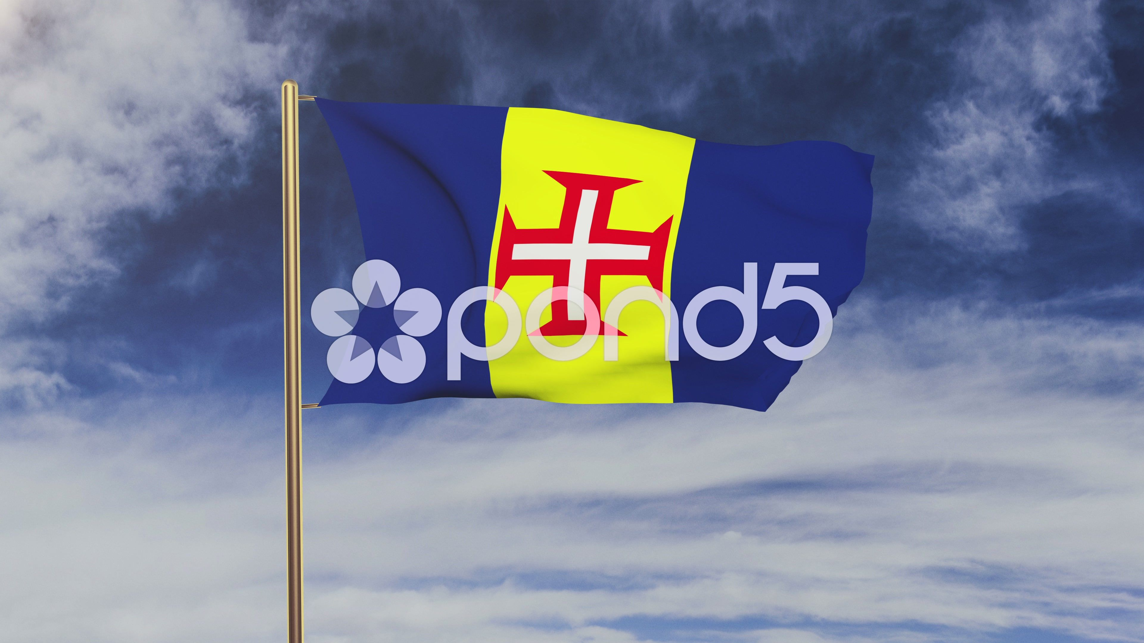 Madeira Flag Waving In The Wind Green Screen Alpha Matte Loopable Animation Stock Footage Ad Wind Green Madei In 2020 Greenscreen Animation Children Illustration