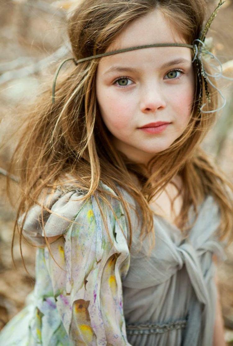 Coiffures à la mode pour petites filles 2015/16 Chic