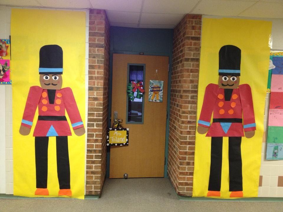 Nutcracker Christmas Classroom Door Decorations   Holidays ...