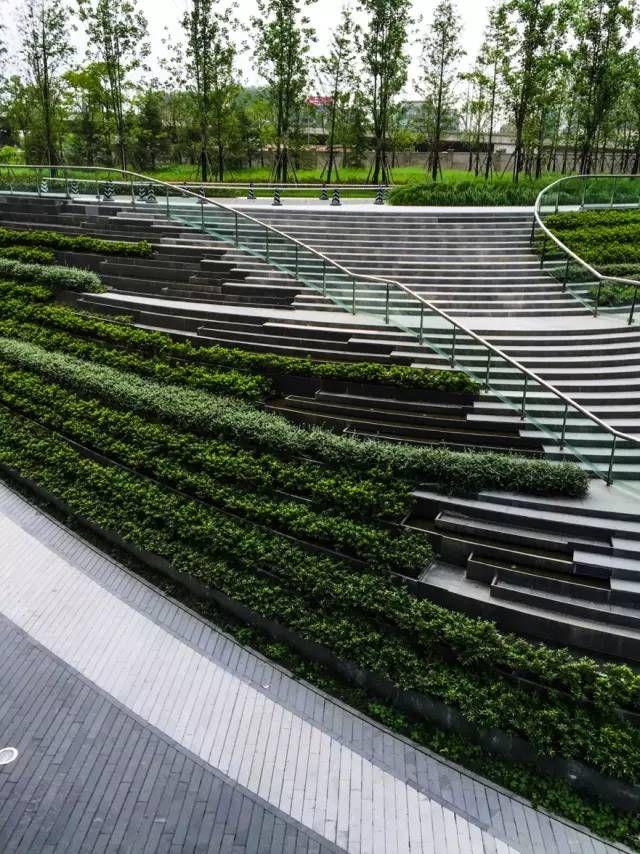 Best 上海凌空Soho丨Topo丨 Landscape Stairs Landscape Design 640 x 480
