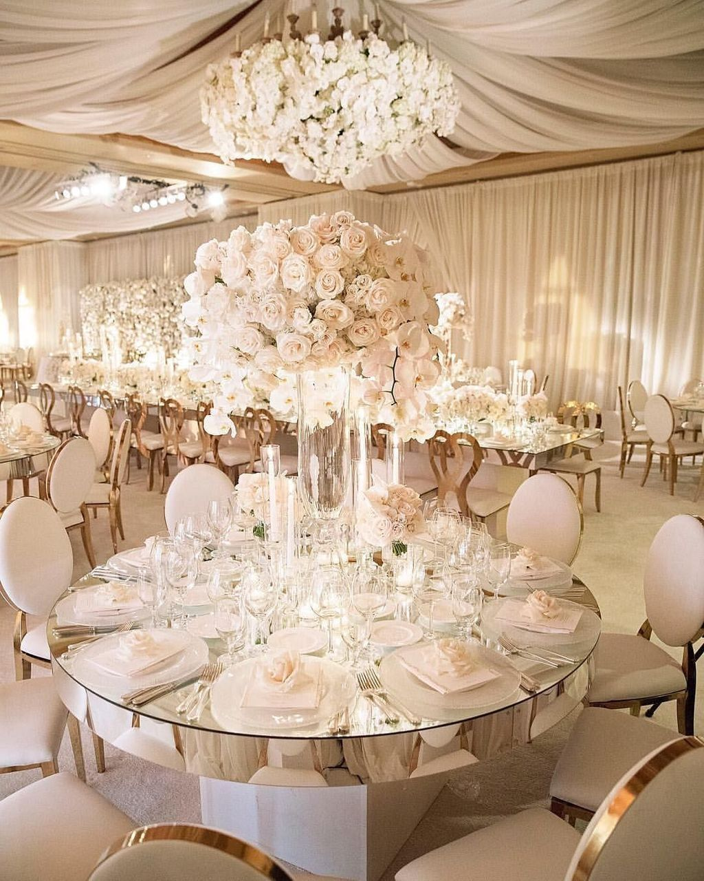 Elegant Wedding Reception Decoration: 30+ Totally Inspiring Wedding Hall Decoration Ideas