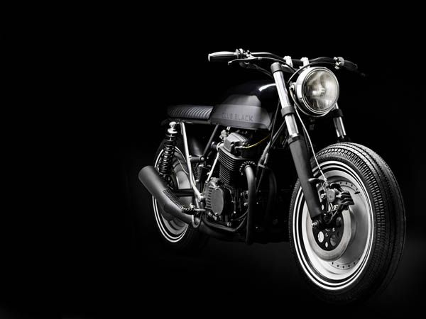 I like the name of the company:  WRENCHMONKEES    CLUB BLACK #01  Honda CB 750 K