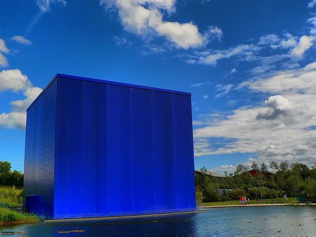 Blue Cube Danfoss Universe Denmark Universe Travel Photos
