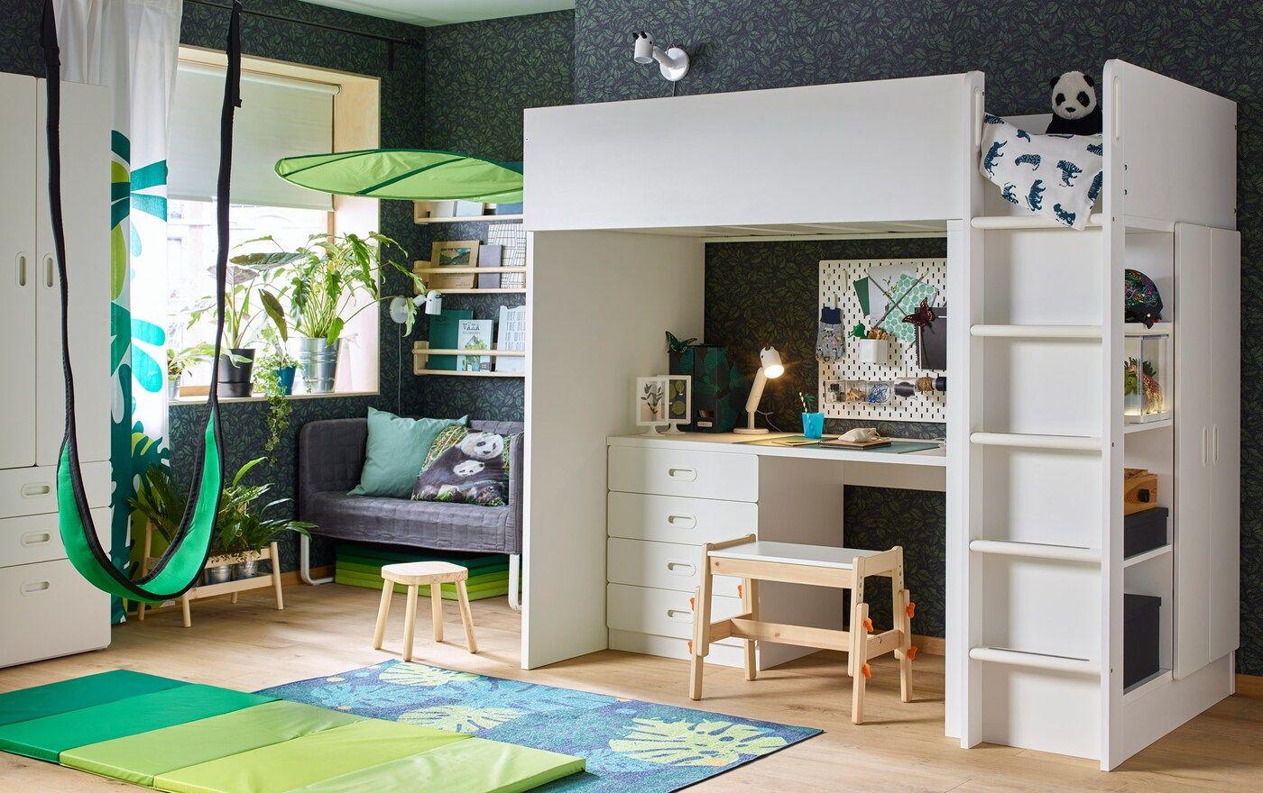 Kinderzimmer für Kinder mit wilden Ideen | Loft betten ...