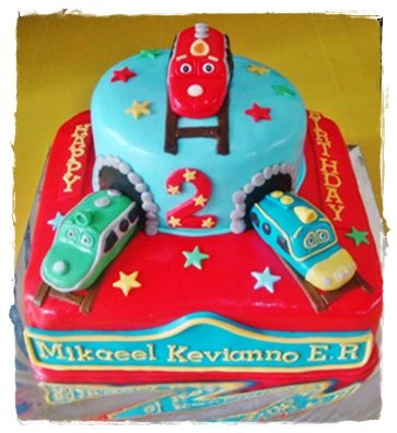chuggingtonbirthdaycakes deIr Cakes Chuggington Cake Party
