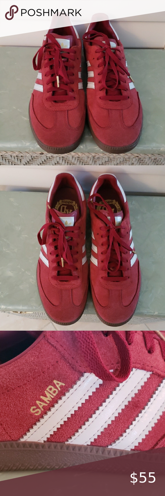 Adidas Samba 1949 suede sneakers size 9