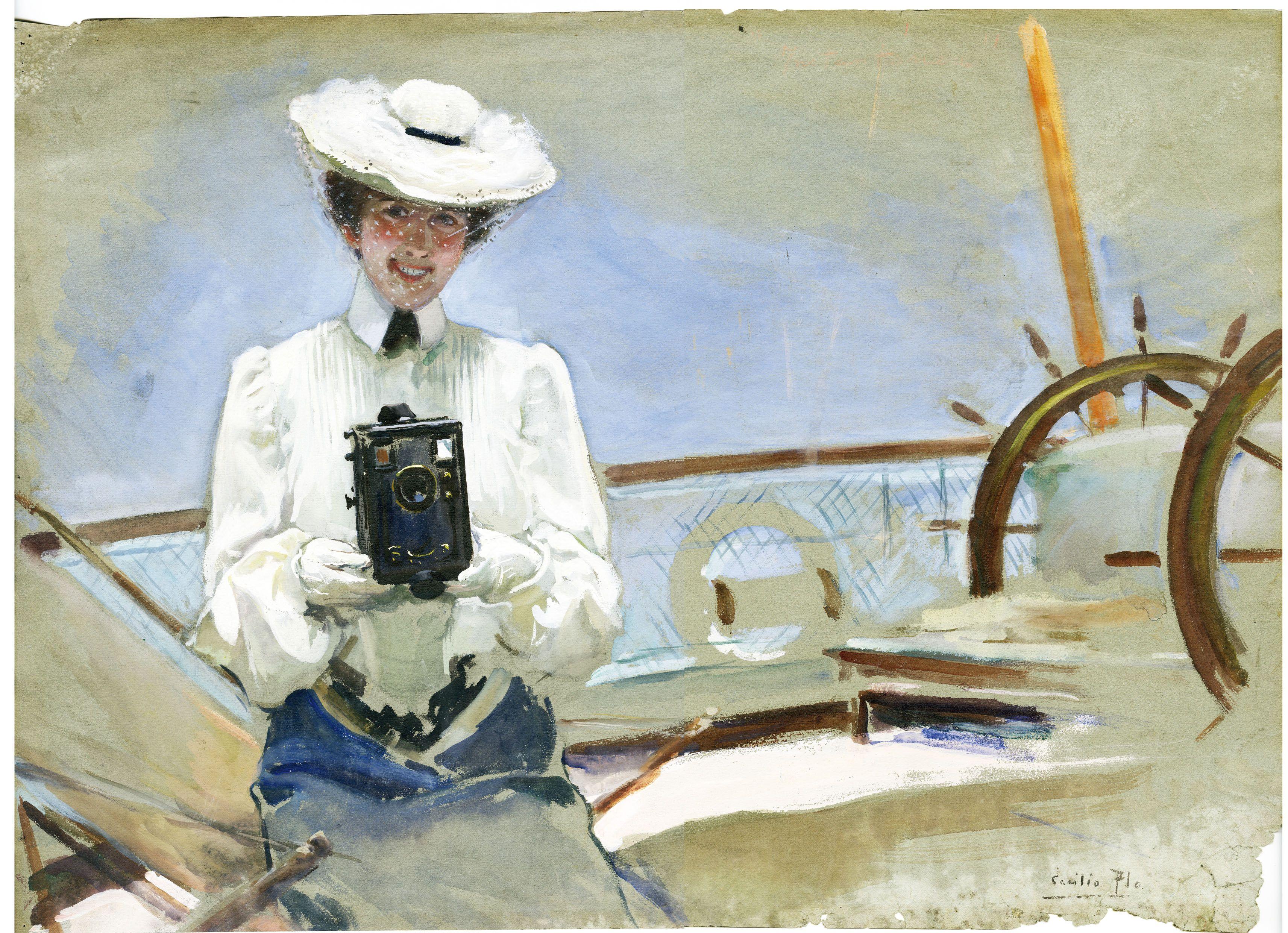 Cecilio Pla, 1903