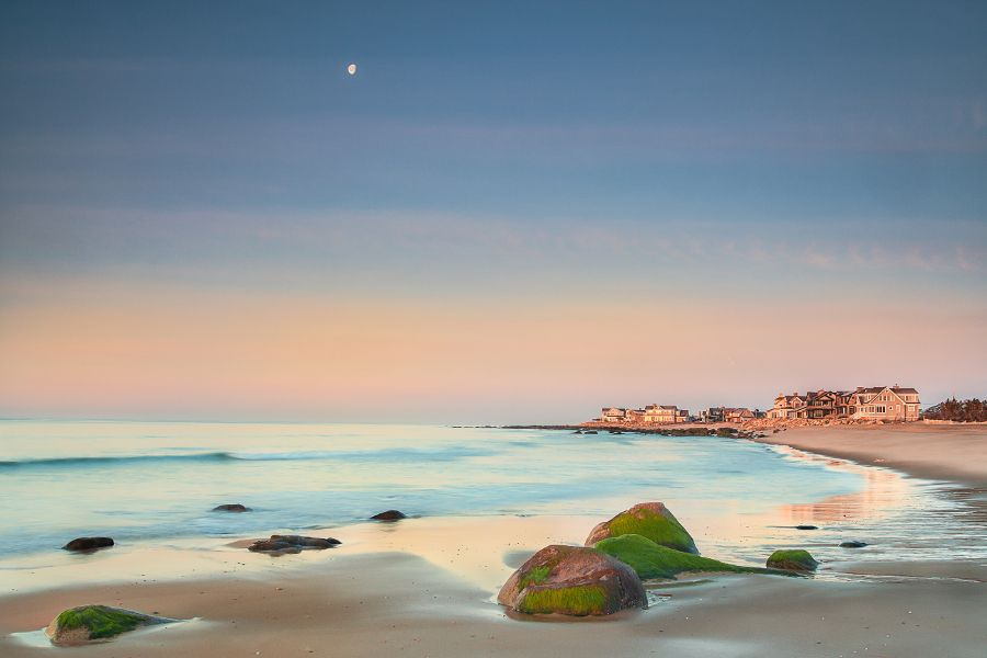 Easter Sunrise On East Beach In Charlestown Ri By Landscape And Seascape Photographer