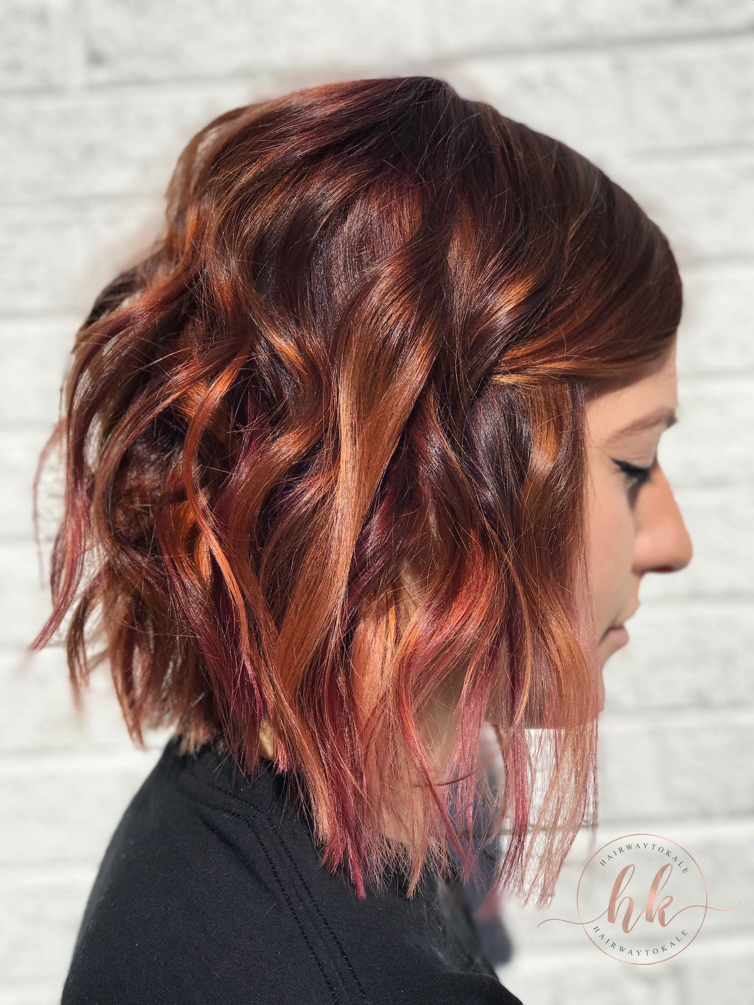 Peanut Butter And Jelly Hair