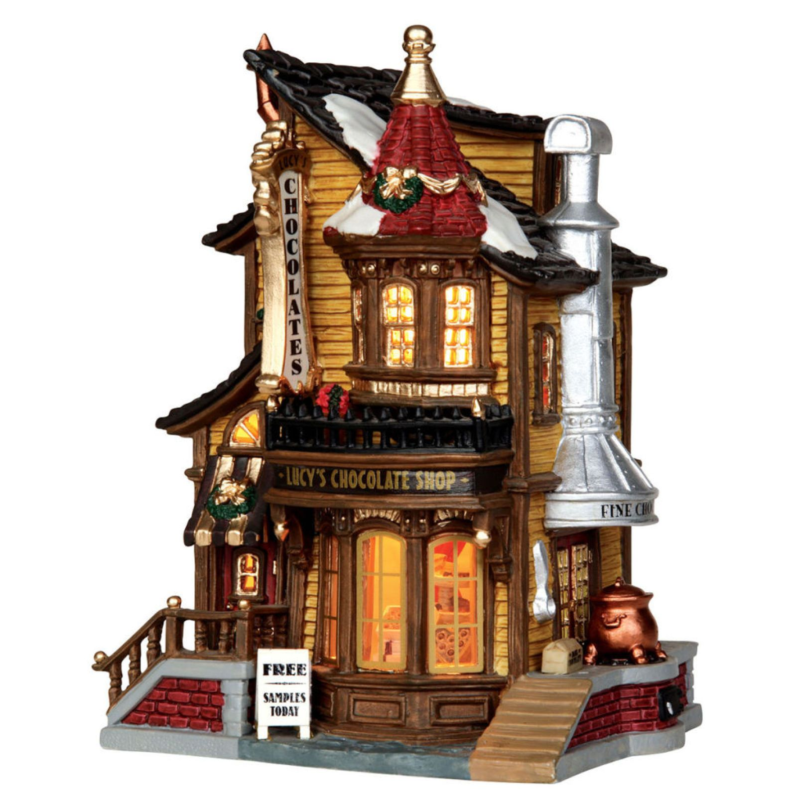 Lemax® Caddington Lucy's Chocolate Shop (With images