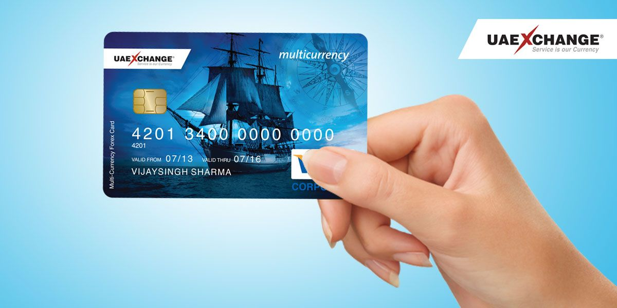 Travel Abroad With Smart Multicurrencytravel Card From Uae Exchange India