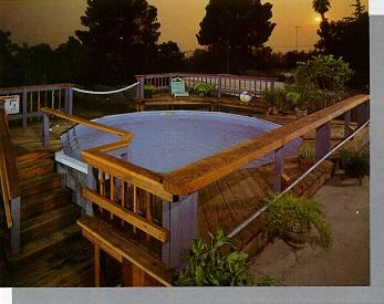 Above Ground Pool Landscaping Ideas landscaping dos donts for your above ground pool youtube Above Ground Pool Designs Google Search