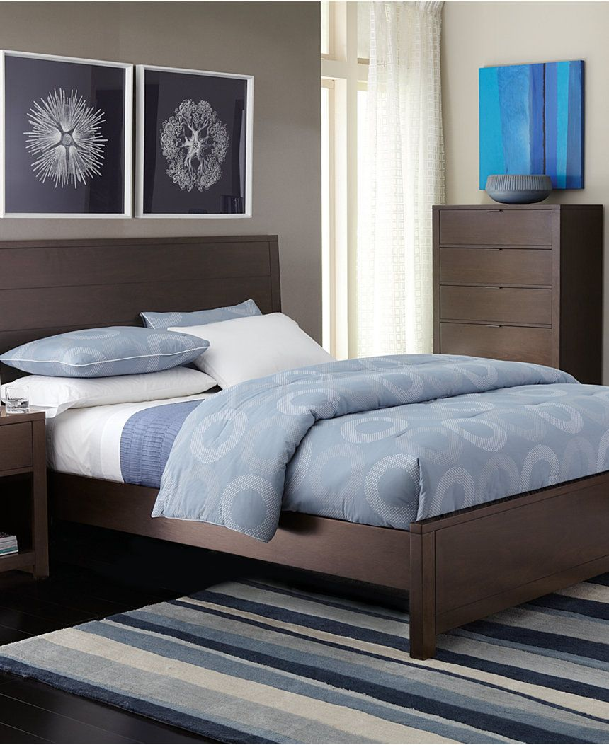 Tribeca Full-Size Bed, Created for Macy\'s