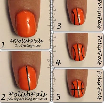 25 Very Easy & Simple Step By Step Nail Art Tutorials For Beginners & Learners 2014   Girlshue