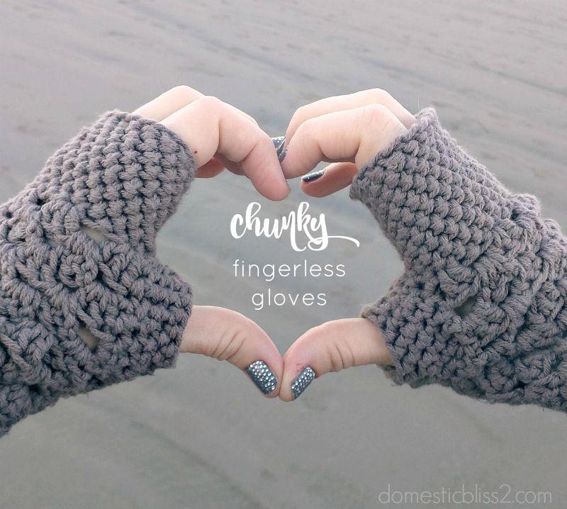Crochet Fingerless Gloves Free Patterns | Häkeln, Handschuh und ...