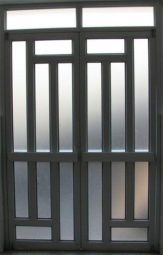 Talleres merchan aluminio vidrio hierro ingenieria for Modelos de puertas de ingreso