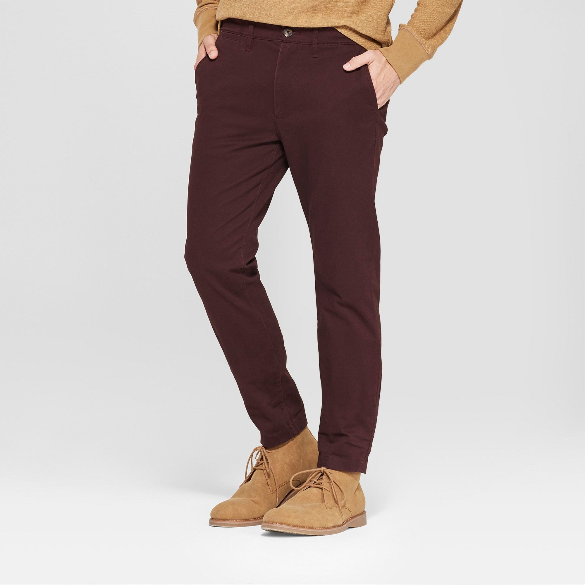 BRAND NEW MULTIPLE SIZES GOODFELLOW CHINO SLIM FIT PANTS Stretch 6 Colors