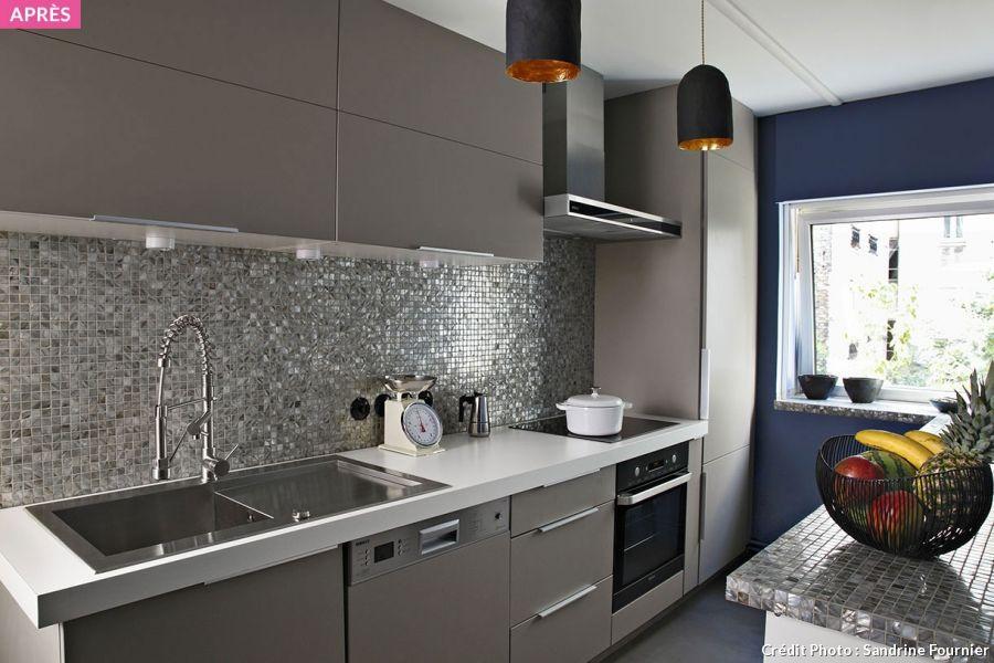 Réaménager une cuisine de 8m2 Architecture