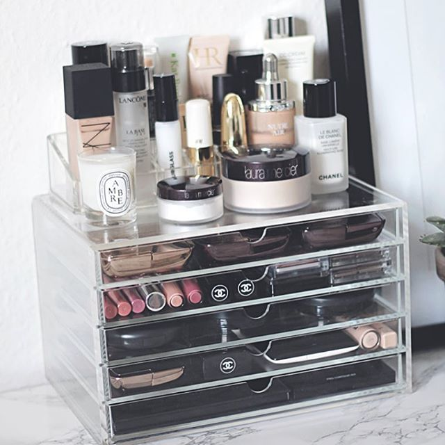 Muji Makeup Organizer Custom Instagram Post By H O U S E O F G L I T T E R Houseofglitterdk