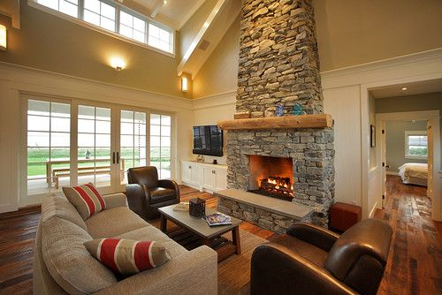 Warmington North Traditional Living Room Furniture Placement