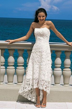 Beach Wedding Dresses I May Need This In A Few Years When We Renew Our Vows