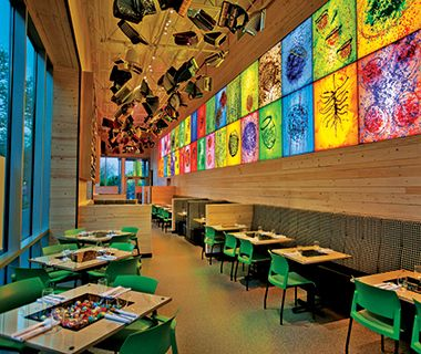 America S Best Museum Restaurants Collections Cafe Chihuly