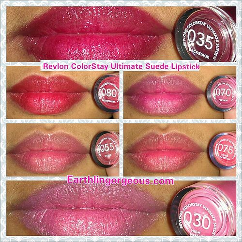 Revlon ColorStay Ultimate Suede Lipstick Swatches & Review - Page ...