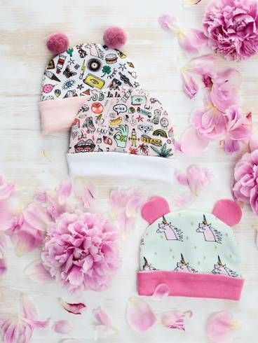 Baby hats for sewing yourself Easy step-by-step: sewing and crafting instructions for all DIY enthusiasts#baby #crafting #diy #easy #enthusiasts #hats #instructions #sewing #stepbystep