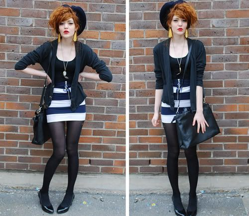 I want hair like this SO bad, but I love the outfit too! ;)