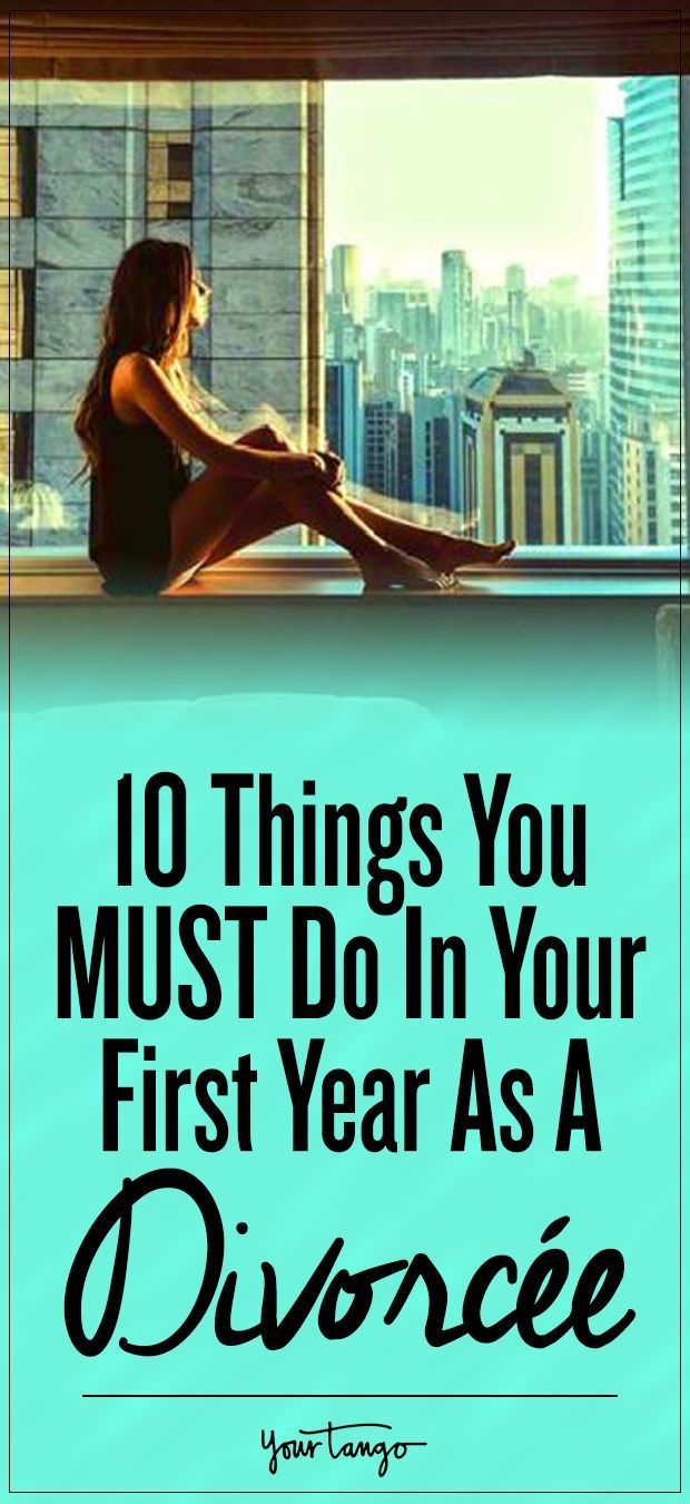 10 Things You MUST Do In Your First Year As A Divorcée #divorce