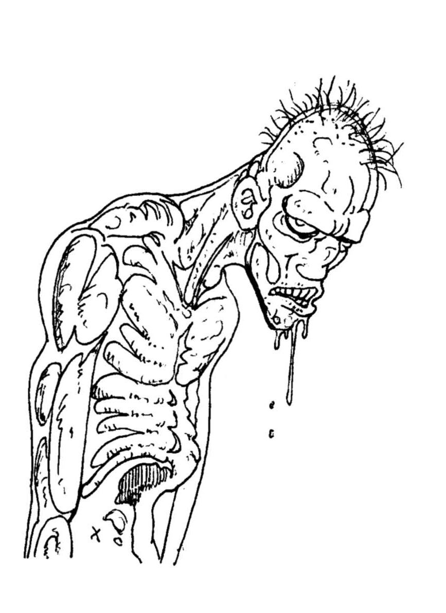23 Cool De Dessin Zombie Facile Images  Zombie, Zombie attack