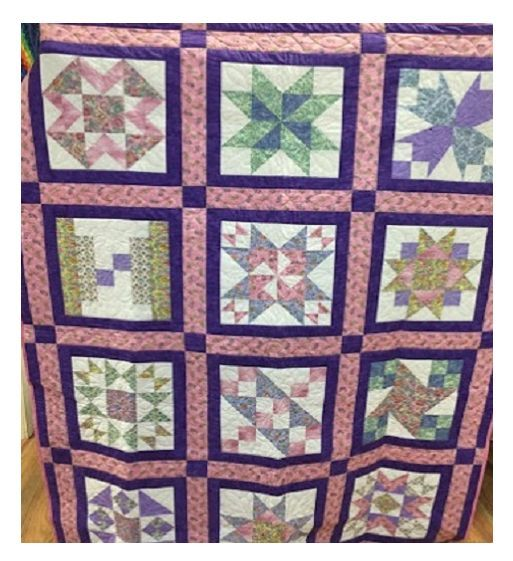Country Sampler Quilt                                                                                                                                                                                 More