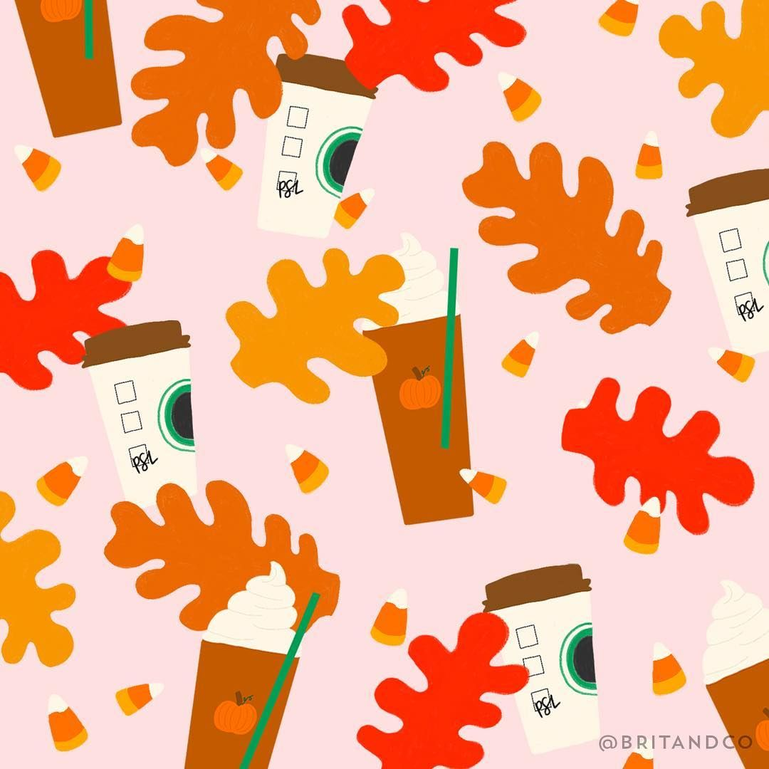 Fall In Love With This Free Psl Themed Desktop Wallpaper Cute Fall Wallpaper Desktop Wallpaper Fall Fall Wallpaper