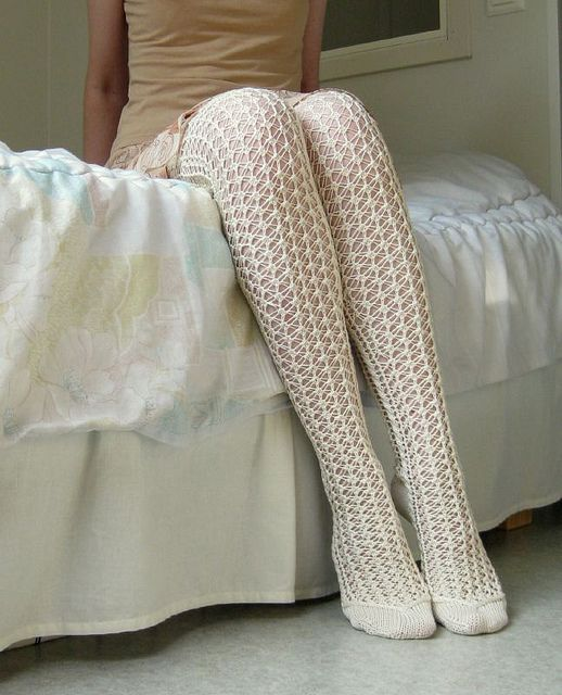 Lace stockings5 by Tessas, via Flickr