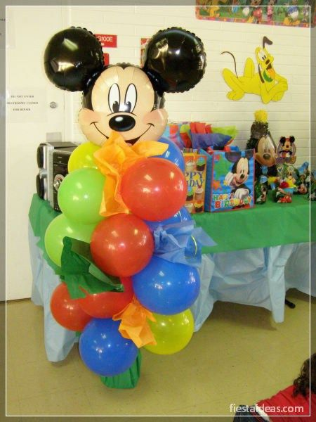 Decoracion fiesta mickey mouse fiestaideasclub 00043 for Decoracion la casa de mickey mouse