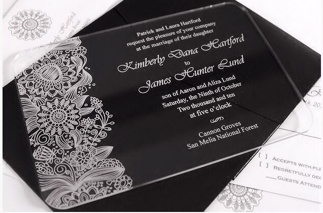 Cheap Wedding Invitations With Box Buy Quality Wedding