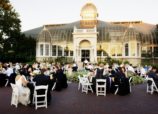 19 Beautiful Wedding Venues In The Midwest Love That My Venue Is On This Franklin Park Conservatorythe