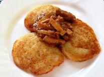 Tortitas de patatas - RECETA:  https://aventurasencocinablog.wordpress.com/2016/07/11/tortitas-de-patatas/ Aventuras en Cocina - la felicidad es casera