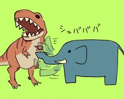イラスト コミック 絵画 色 おしゃれまとめの人気アイデア pinterest uwota aman 象 イラスト 恐竜 イラスト ゾウ