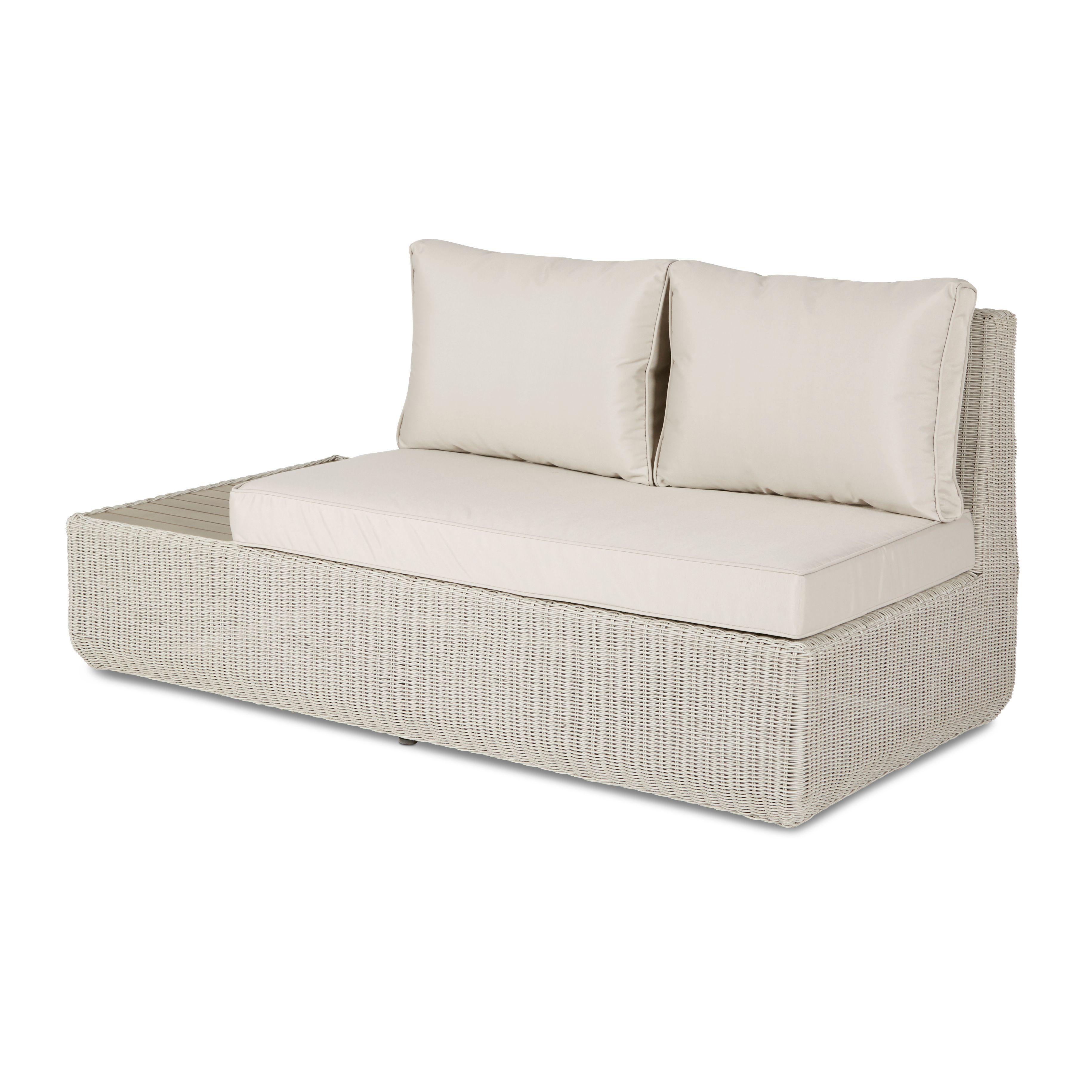 rocha rattan 2 seat sofa departments diy at b q garden ideas rh pinterest com