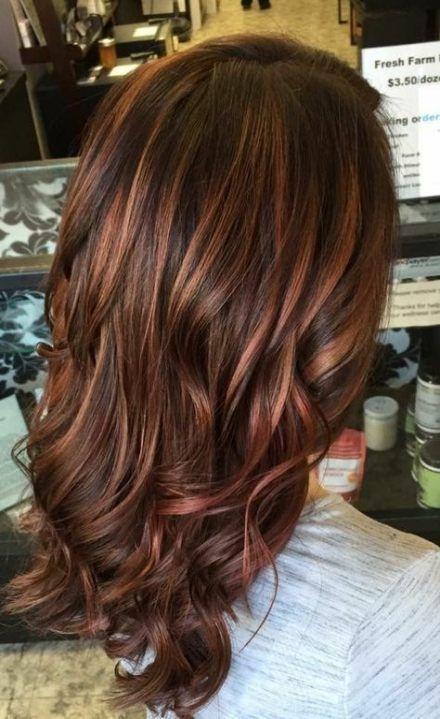 Hair Colored Ideas Auburn Caramel Highlights 18 Ideas for 2019 –  Hair Colored I…