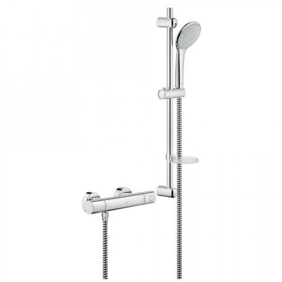Grohe 34437000 Details The Grohtherm 1000 thermostatic shower mixer ...