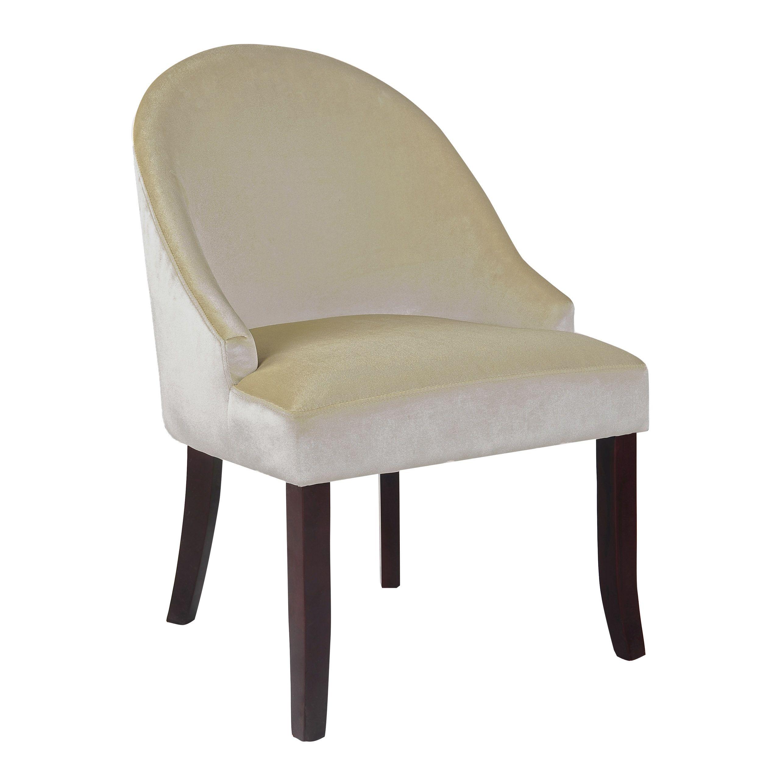 CorLiving Antonio Accent Chair in Velvet, Multiple colors, Black ...