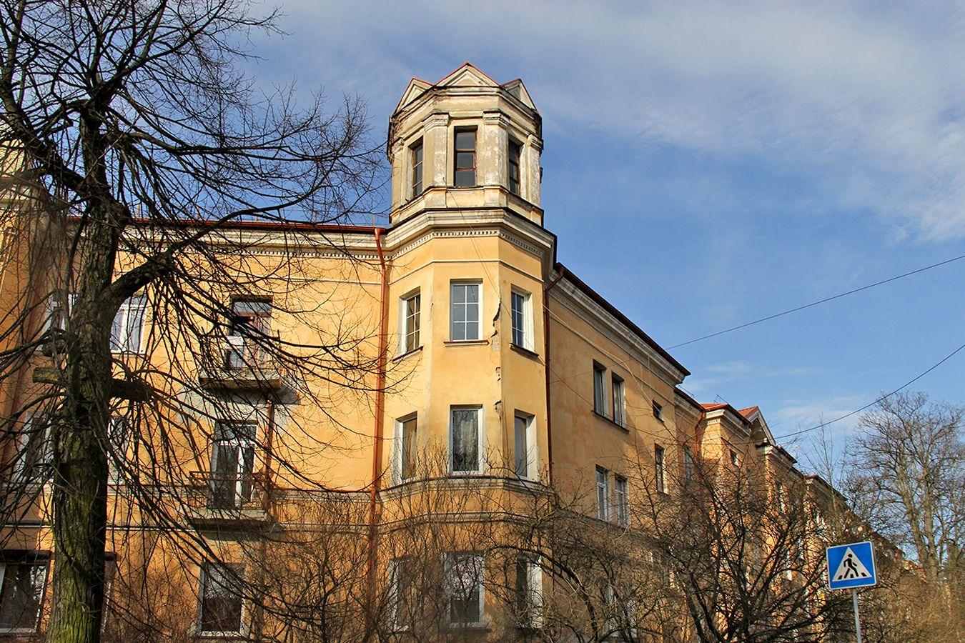 Дома вокруг сквера Шопена