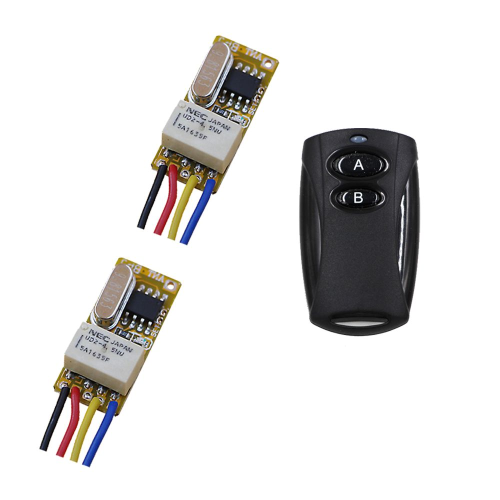 Latest 1ch Relay Switch Rf Remote 36v 45v 5v 6v 74v 9v 12v Momentary